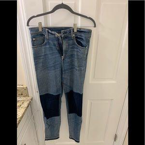 Rag n Bone two toned jeans, size 30